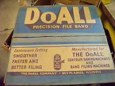 Doall band saw file blade 75 inch 3/8 1/2 round 10 teeth machine Do all filing