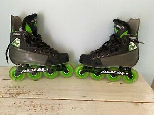 Mens roller hockey Alkali ca7 skates size 8 (barely used)
