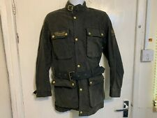 VINTAGE 70's BELSTAFF TRIALMASTER PRO WAXED COTTON MOTORCYCLE JACKET SIZE S