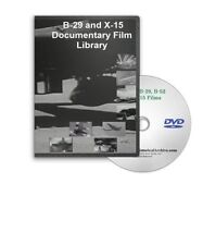 B-29 Superfortress, X-15, B-52, B-25, C-74 Flying Wing Film Collection DVD - A95