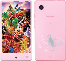 DOCOMO SHARP DM-01H DISNEY AQUOS COMPACT JAPAN  PHONE ANDROID 4K UNLOCKED NEW