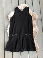 KC Parker Girls dress sz 16 black sleeveless Jumpsuit Dress Holiday Party