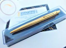 24Ct Gold Plated Genuine Parker Jotter Ballpoint Classic Writing Pen In Gift Box