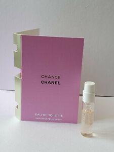 Chanel Chance EDT 1.5ml official sample spray, new & fresh