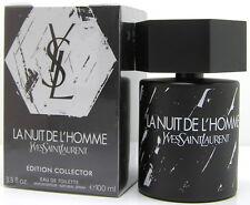 Yves Saint Laurent YSL La Nuit de L Homme Edition Collector 100 ml EDT Spray