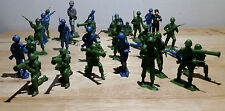 PLATOON OF ARMY MEN 2in. FIGURES UNMARKED MARX