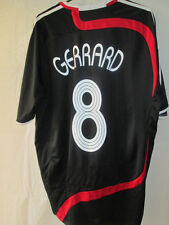 Liverpool 2007-2008 Away Football Shirt Size Large CL Gerrard  /34608