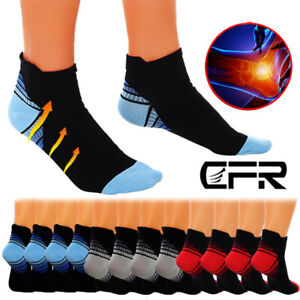 Compression Socks Ankle Support 20-30mmHg Graduated Pain Relief Men Women CFR