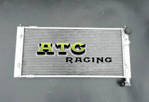 Radiador de aleación de aluminio para VW Golf 2 y Corrado VR6 Turbo