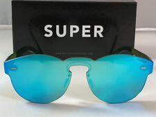 Retrosuperfuture Tuttolente Paloma Azure Frame Sunglasses SUPER 9CB 48mm New