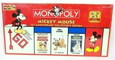 Disney Mickey Mouse 75th Anniversary Collector's Edition Monopoly Nib