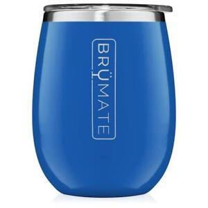 NEW BRUMATE UNCORK'D XL 14 OZ WINE TUMBLER | ROYAL BLUE