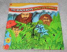 BLONDIE CHAPLIN SIGNED AUTHENTIC 'THE BEACH BOYS' RECORD ALBUM LP w/COA SINGER