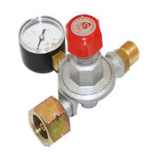 Mitteldruck-Regler 8 kg/h, einstellbar von 0,5 - 4 bar mit Manometer