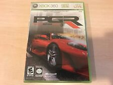 NEW, FACTORY SEALED Project Gotham Racing 3 for Xbox 360, ORIGINAL RELEASE