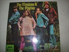 "7"" EP 45 P/S - THE MAMAS & THE PAPAS - MY GIRL + 3 - 1976 - BRAZIL"