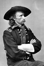 New 5x7 Civil War Photo: Union - Federal General George Armstrong Custer