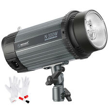 Neewer 300W Photo Studio Strobe Flash Light Monolight with Modeling Lamp Kit