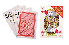Gigantesco Naipes Juego bien tus cartas Pub Juegos De Cartas Poker Feria Fete