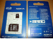 Nokia MU-41 4GB Micro SD HC Speicherkarte SDHC Karte Adapter Handy Digitalkamera