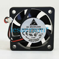 For Double Ball Bearing 40mm*10mm Delta AFB0412MA 12V DC Fan 2pin
