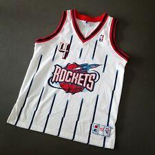 100% Authentic Charles Barkley Vintage Starter Rockets Jersey Size 46 L XL Mens