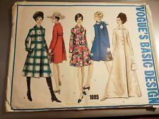 """Vintage 38"""" 16 Vogue Paris Sewing Pattern 1960s Coats"""