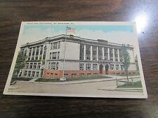 VINTAGE - SOUTH SIDE HIGH SCHOOL - SOUTH BETHLEHEM  PA   POST CARD - VG