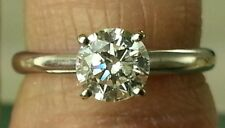 "GSI .72ct Diamond Ring 14k & W/ Laser Inscription on Stone ""Kays""Lowest ON Ebay"
