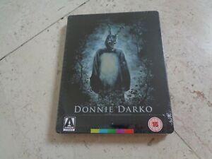 DONNIE DARKO Blu-ray SteelBook *NEW* CULT MOVIE Jake Gyllenhaal Patrick Swayze