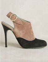 Nib Anthropologie Handmade Paola d'Arcano Morcote Heels Booties Sz 38 US 7 $398