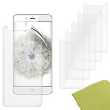 5 Pack PET Film Screen Protector Guard For ZTE nubia Z11 Max
