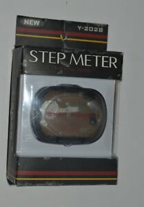 Toyota Moving Forward 2004 Car Ad Campaign Vintage Pedometer Step Meter Y20-28