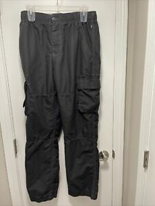 MENS WEAR FIRST CARGO PANTS 32X32 100% Poly Lined MICROBOARD INSEAM 32