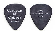 Caravan Of Thieves Fuzz Sangiovanni Signature Black Guitar Pick - 2016 Tour
