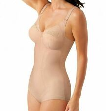 Playtex 2859 Kzg Korselett D-cup Body Modellante Donna Beige 8d IT