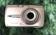 OLYMPUS STYLUS STYLUS 600 DIGITAL 6.0MP DIGITAL CAMERA - SILVER