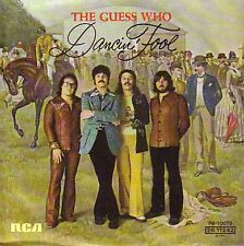 """THE GUESS WHO  Dancin' Fool  PICTURE SLEEVE 7"""" 45 rpm NEW + juke box title strip"""