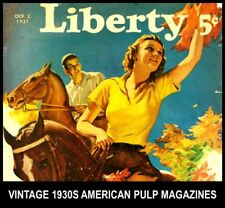 1930s AMERICA VINTAGE PULP MAGAZINES in DVD Liberty Calling All Girl Kids Family