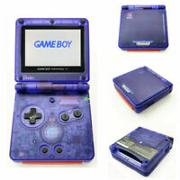 Nintendo Game Boy Advance GBA SP Clear Purple System AGS 101 Brighter NEW