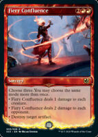 1x Fiery Confluence NM-Mint, English Signature Spellbook: Chandra MTG Magic