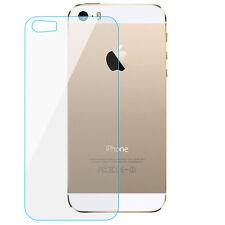 Schutzglas Rückseite für iPhone 5/5s SE Panzerglas Back 9H Tempered Glass Hinten