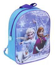 Disney Frozen Girls Travel Sleepover Backpack Bag Luggage LARGE 38 X 25 CM