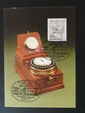 postal history telegraph telecommunications maximum card Germany ref 801-06