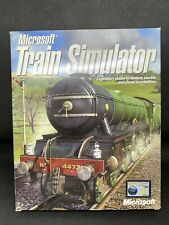 MICROSOFT Train Simulator PC CD -ROM Big Box Game IN GREAT CONDITION