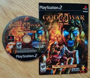 PLAYSTATION 2 GOD OF WAR - THE COLOSSUS BATTLE by SONY DEMO DISC