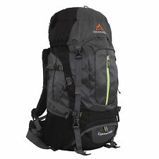 MISSION PEAK GEAR Cypress 3000 50L Internal Frame Hiking Backpack with Rainfly