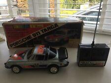 Rare Vintage Rc Nikko Porsche911 Targa Monte Carlo 1/18 scale with box must LOOK