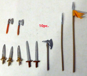 Original Elastolin weapons for 70mm figures #10