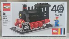 Lego 40370 Limited Edition 40th Anniversary Steam Engine Train New, Sealed